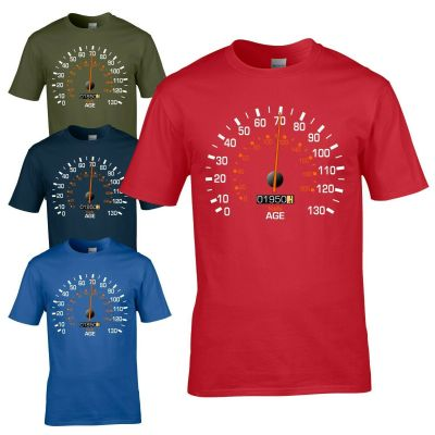 Speedometer 1950 70th Birthday T-Shirt - Funny Feels Age Year Present Mens Gift